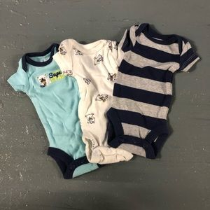 Premature extra tiny onesies with dogs